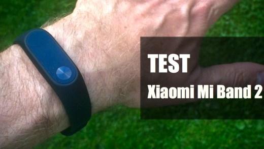 TEST – 5 jours avec le Xiaomi Mi Band 2