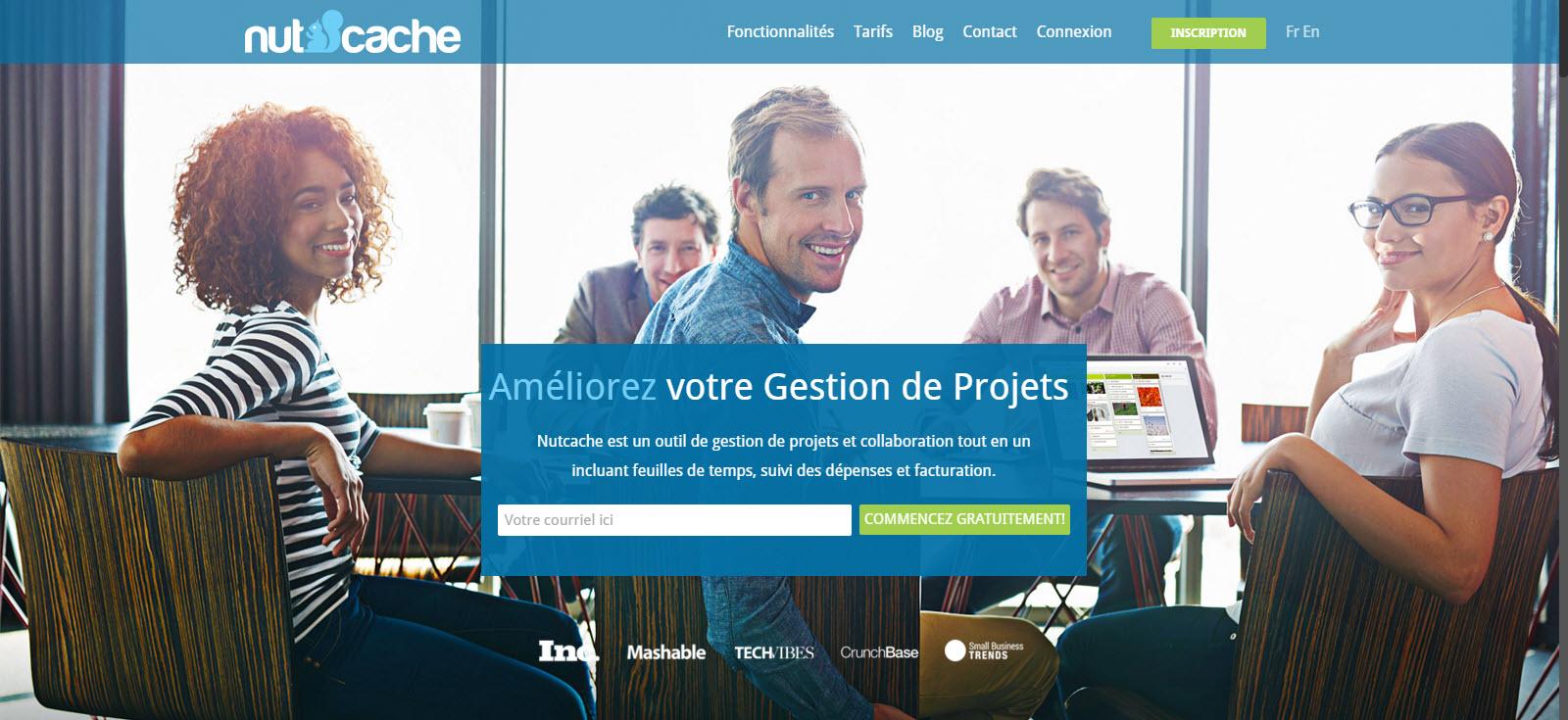 Nutcache : L'application qui booste vos projets !