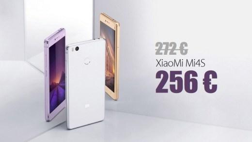 Xiaomi Mi4S 4G – 64 Go – Full HD à 256€