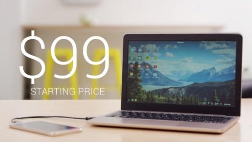 The SuperBook – La puissance de votre smartphone nourrit un PC d'un nouveau genre