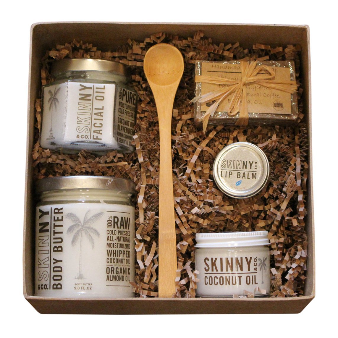 Skinny gift set coconut oil