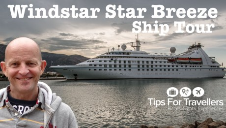 Windstar Cruises Star Breeze Ship Tour Video