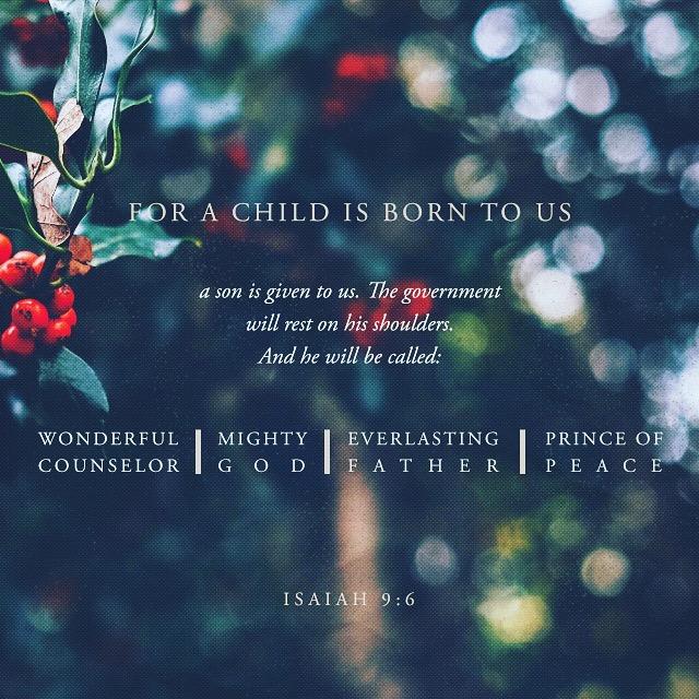Isiah 9:6