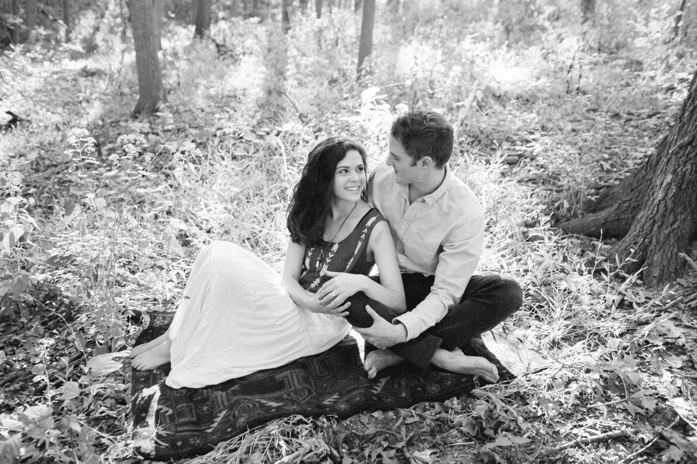 Tire Swing Photography | Cincinnati Ohio Woodland Forest Engagement session_0008