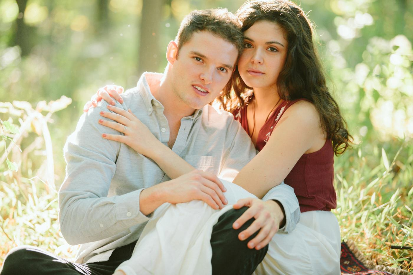 Tire Swing Photography | Cincinnati Ohio Woodland Forest Engagement session_0016