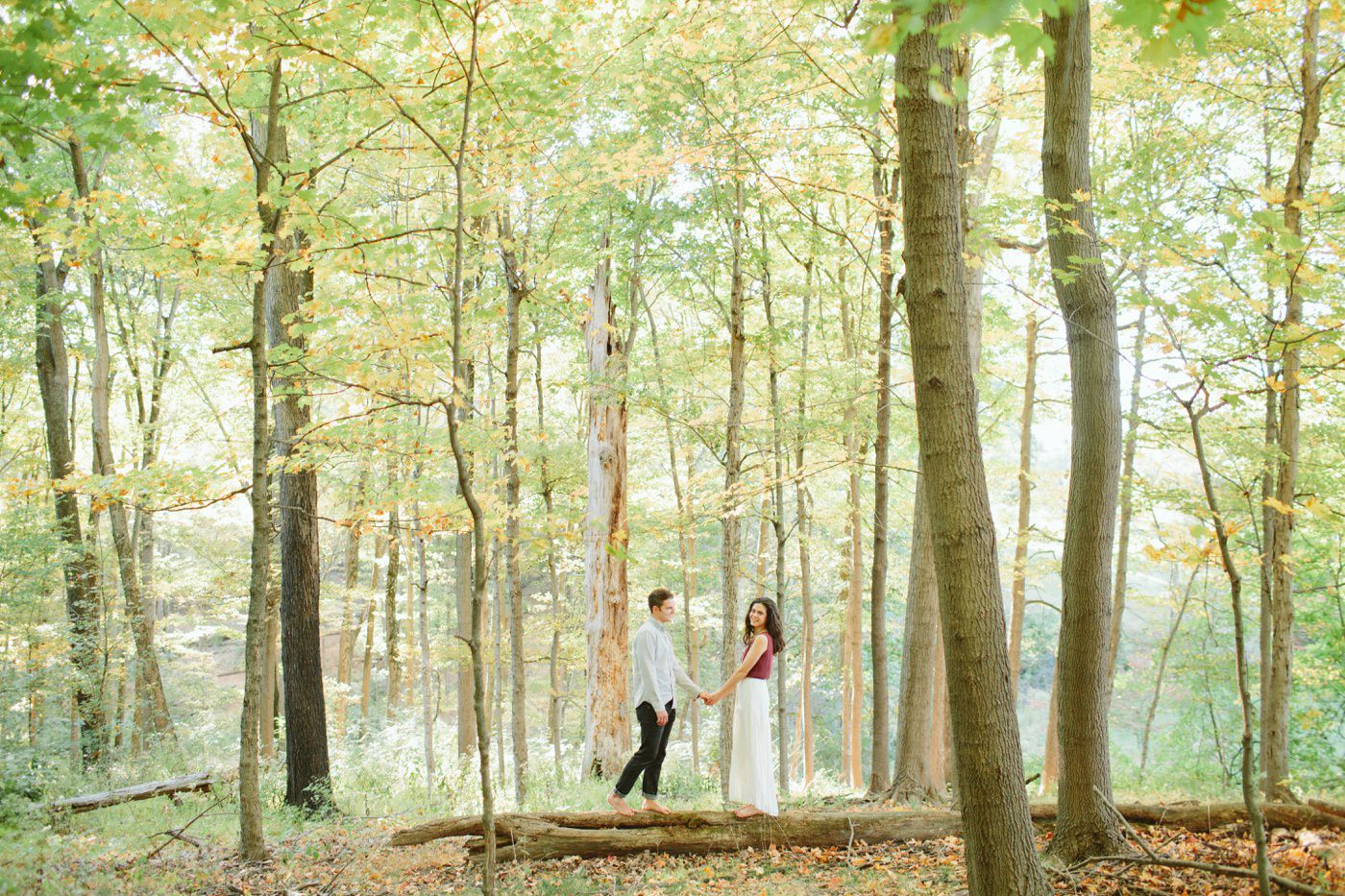 Tire Swing Photography | Cincinnati Ohio Woodland Forest Engagement session_0026