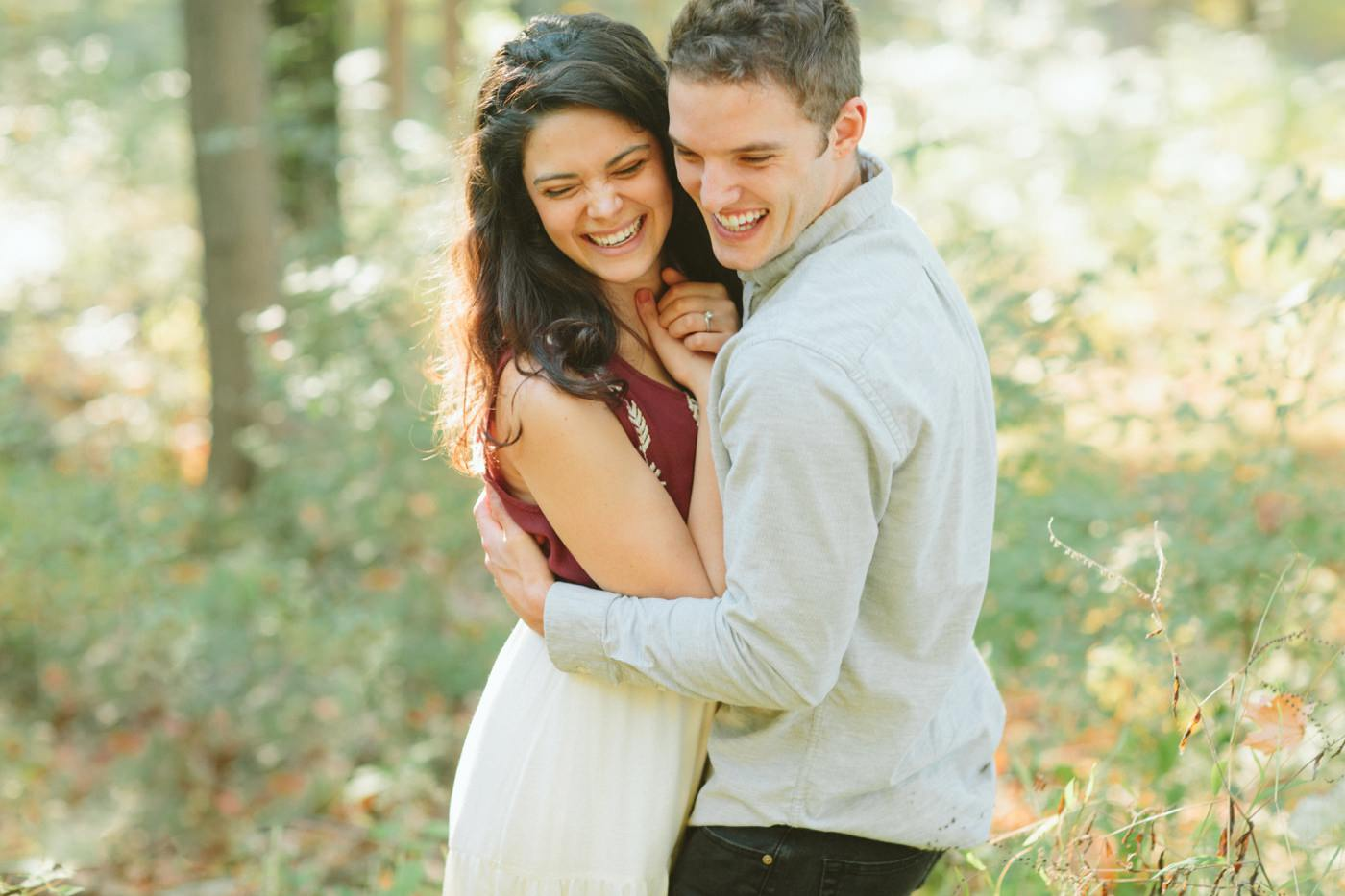 Tire Swing Photography | Cincinnati Ohio Woodland Forest Engagement session_0030