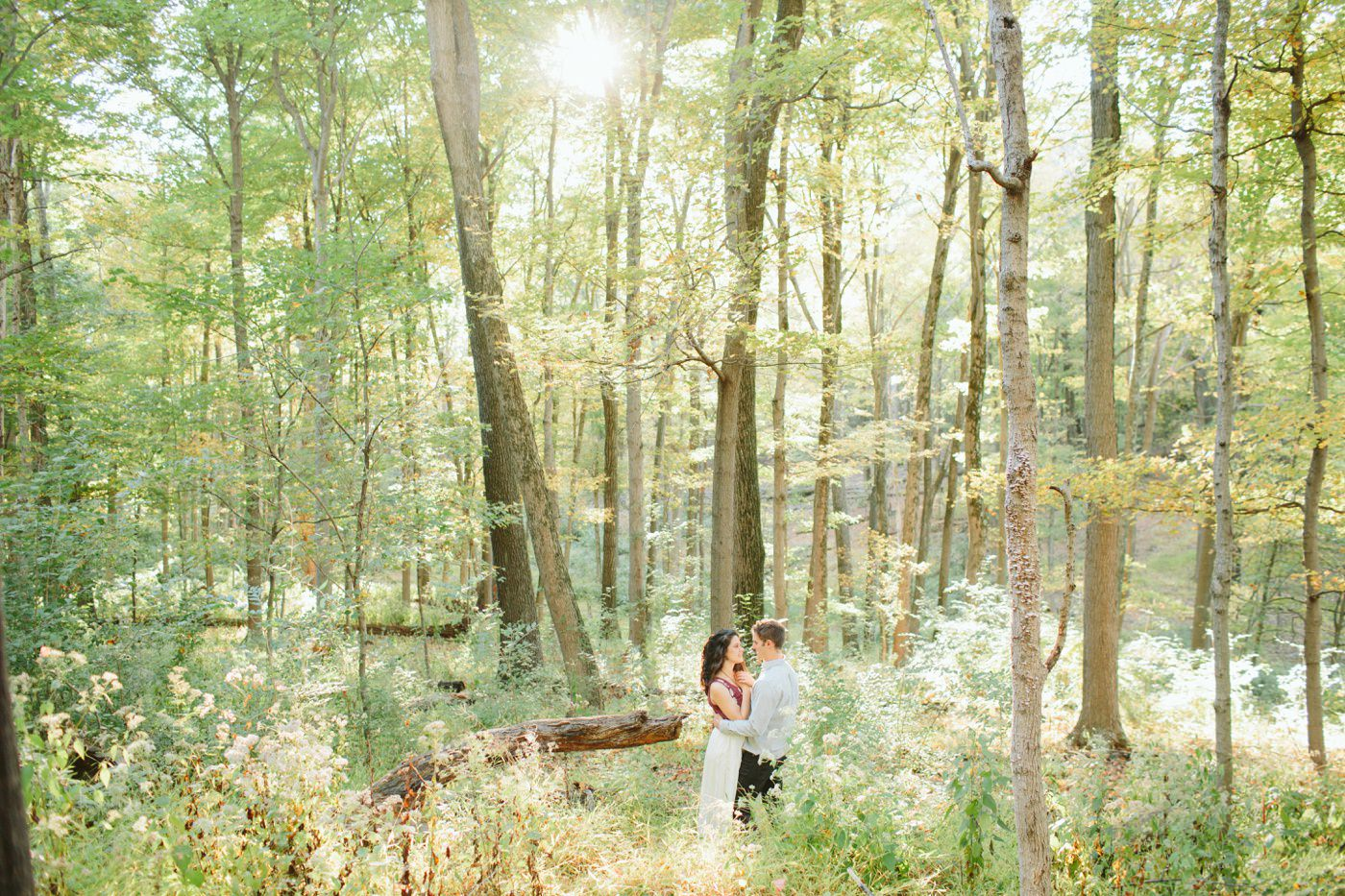 Tire Swing Photography | Cincinnati Ohio Woodland Forest Engagement session_0032