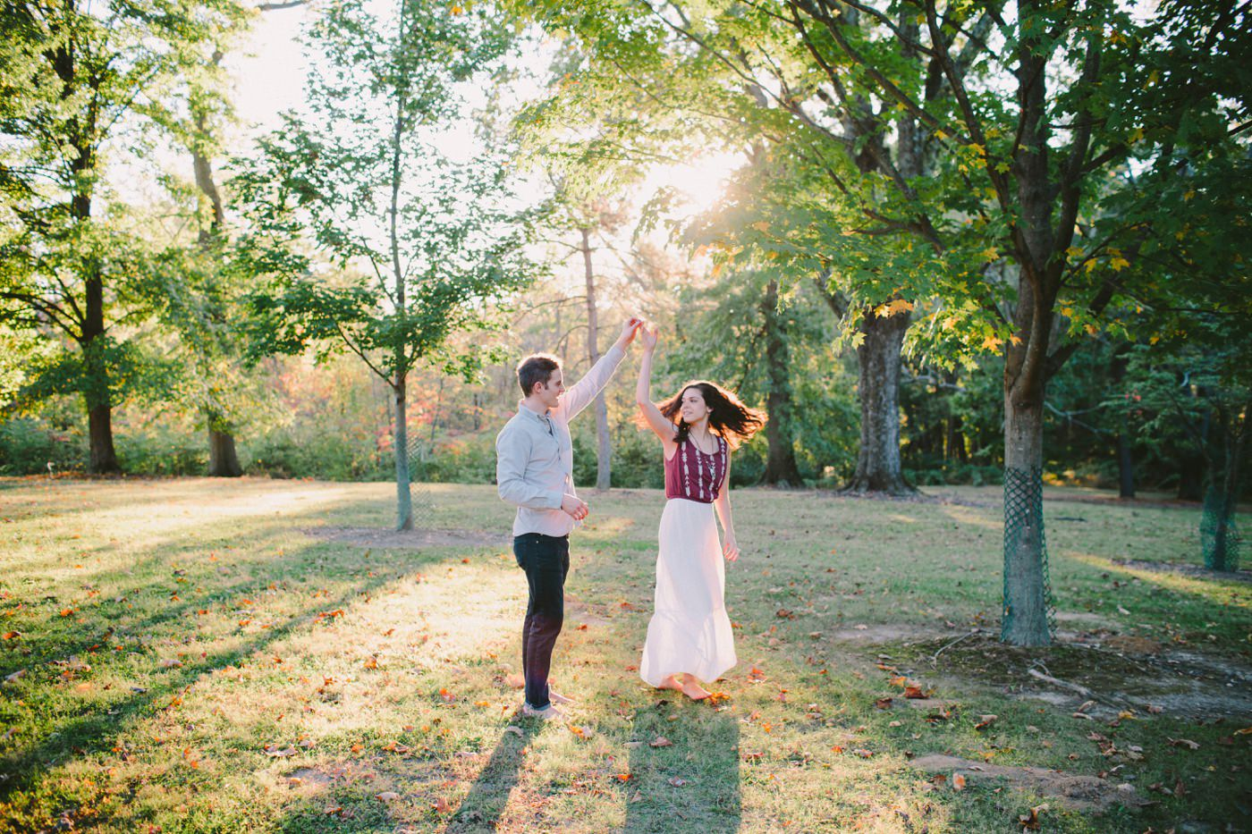 Tire Swing Photography | Cincinnati Ohio Woodland Forest Engagement session_0044