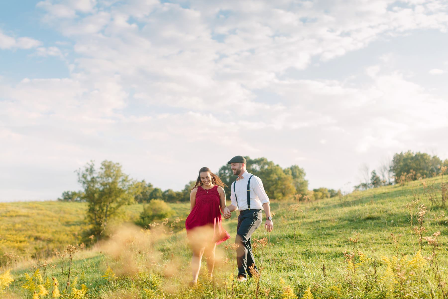 Tire Swing Photography | Kentucky Farm Engagement Session_0032