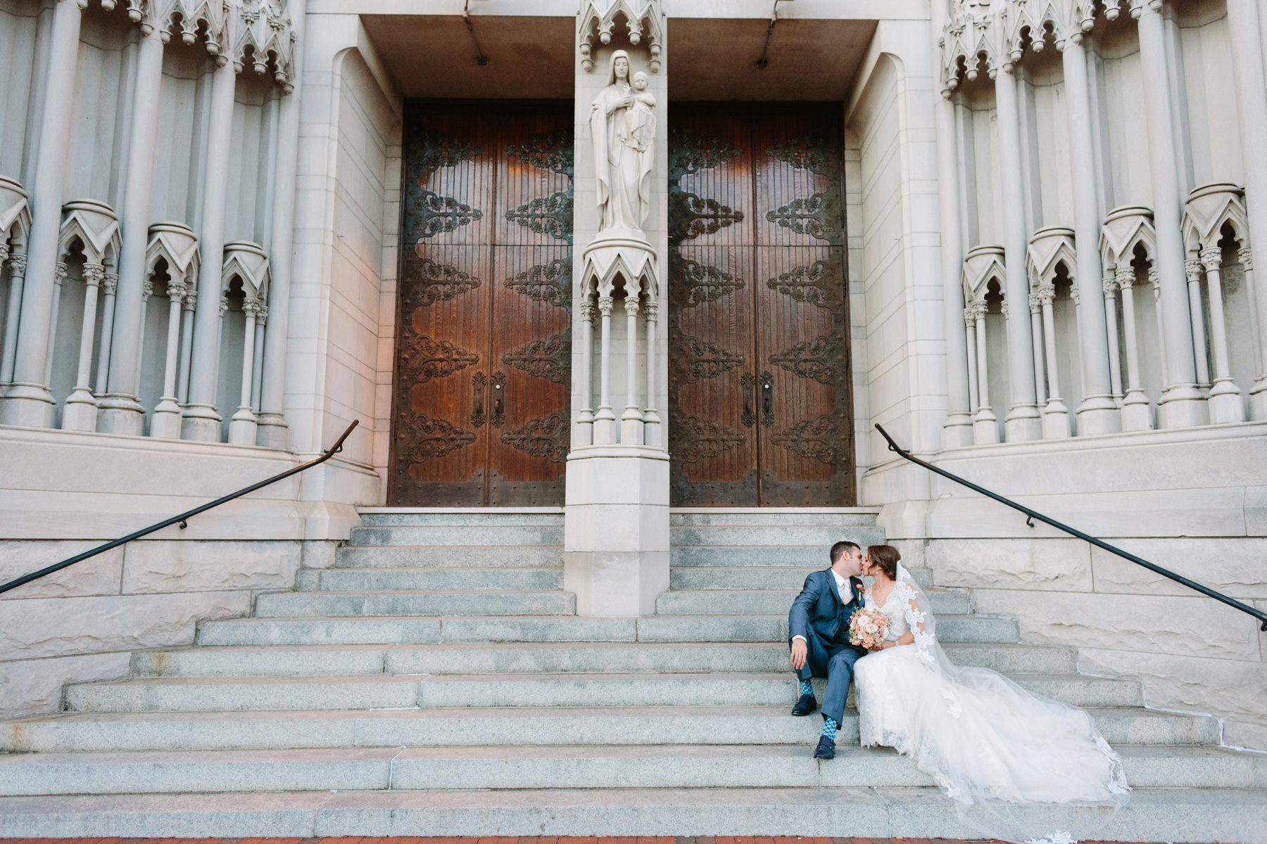 Tire Swing Photography | St. Mary's Cathedral Basilica of the Assumption | Downtown Cincinnati Wedding Photographers_0028