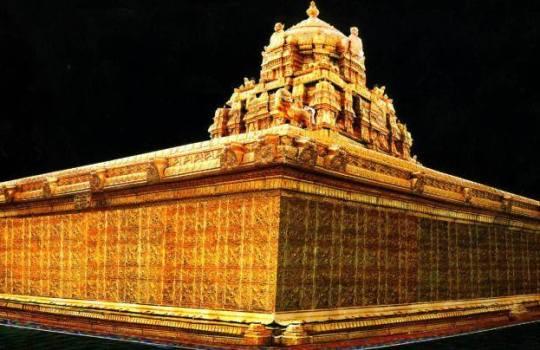 The Amazing Golden Gopuram of The Holy Tirumala Temple