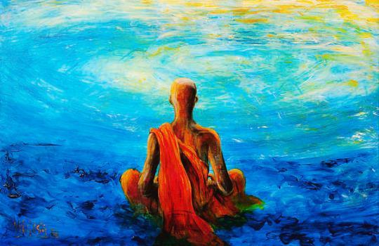 Brahmin In Meditation