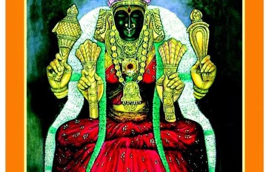 Mother Goddess Kanchi Kamakshi Devi