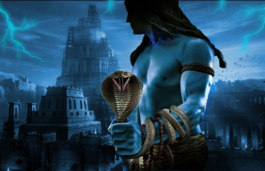 Angry Lord Siva Who Removes Evil Thoughts From Our Minds