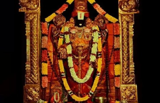 Lord Sri Venkateswara Of Tirumala Temple