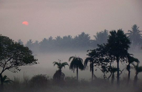 Sunrise In Rajahmundry