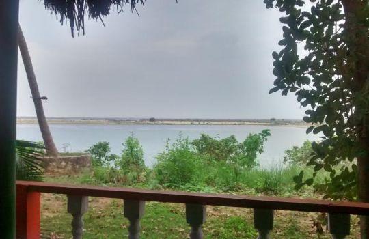 Full View Of Godavari From Resort