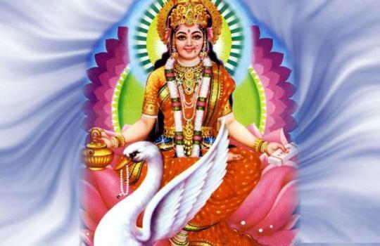 Goddess Gayathri
