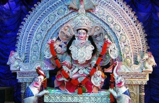 Holy Hindu Goddess Kanaka Durga