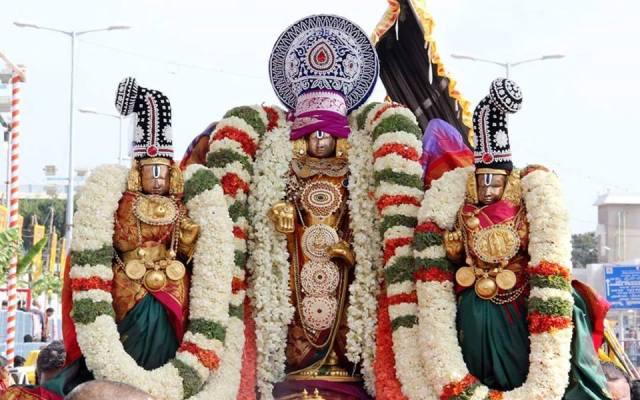 Sridevi Bhudevi Sametha Sri Malayappa Swamy