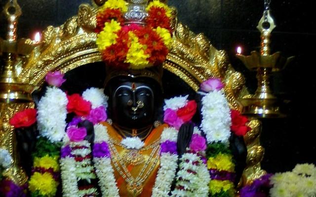 Hindu Goddess Sri Raja Rajeswari Amman