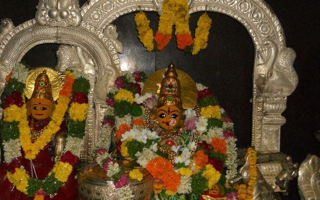 Original Moola Virat Of Basara Gnana Saraswathi Devi Temple