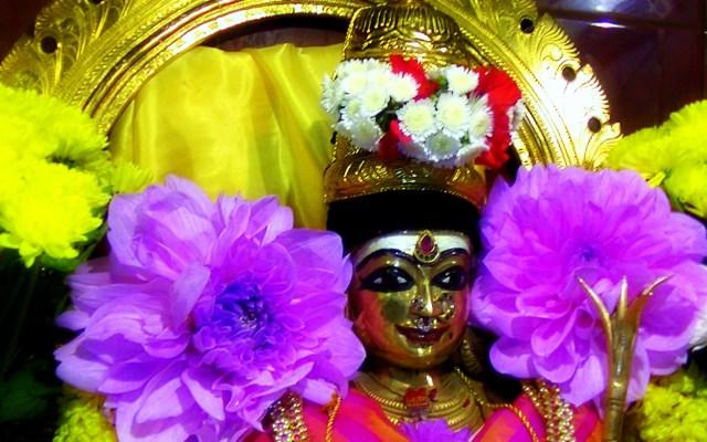 The Principal Deity Of Sri Raja Rajeswari In London Temple
