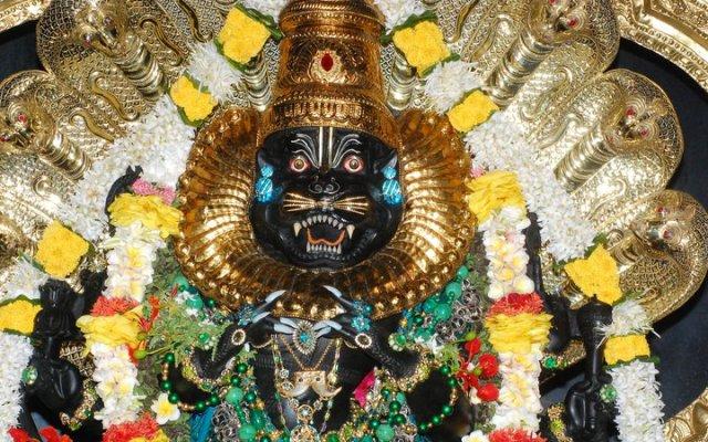 Sri Lakshmi Narasimhar In Anthili Temple