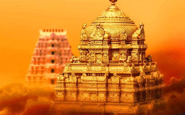 The Amazing Golden Gopuram Of Tirumala Temple