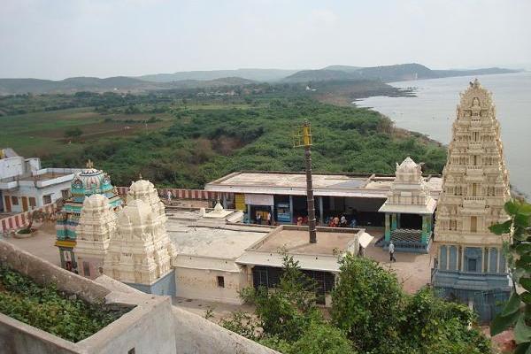 Vedadri Sri Lakshmi Narasimha Swamy Temple On The Banks Of River Krishna