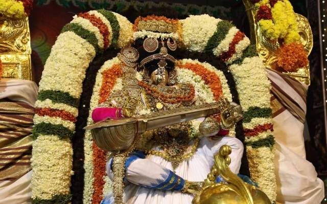 Lord Sri Venkateswara During Brahmotsavams