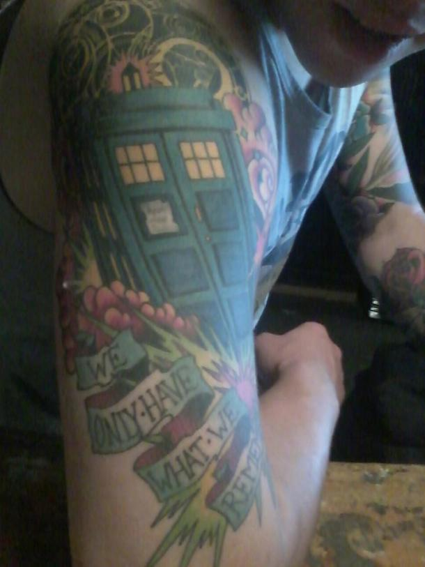 doctor who tatoo