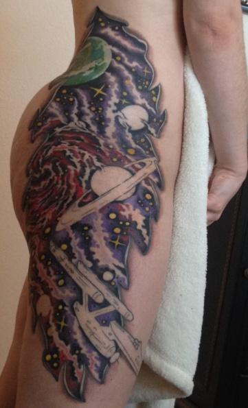 trek tattoo