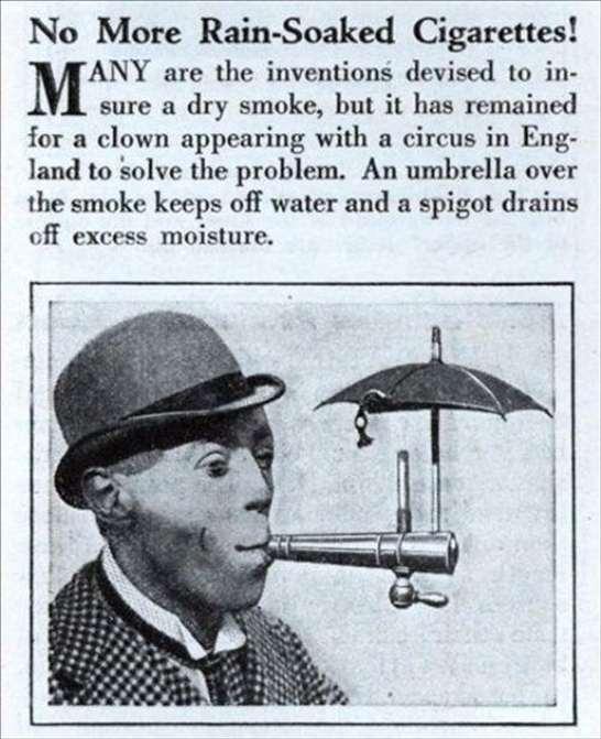 Ombrello per sigarette