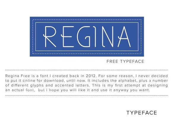 Regina Font Download
