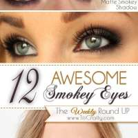 12 Awesome Smokey Eyes Tutorials {The Weekly Round Up}