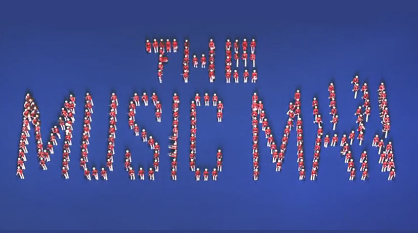 The Music Man Title Sequence by Wayne Fitzgerald