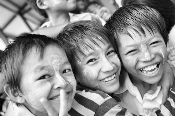 Sourires d'écoliers - Dalah