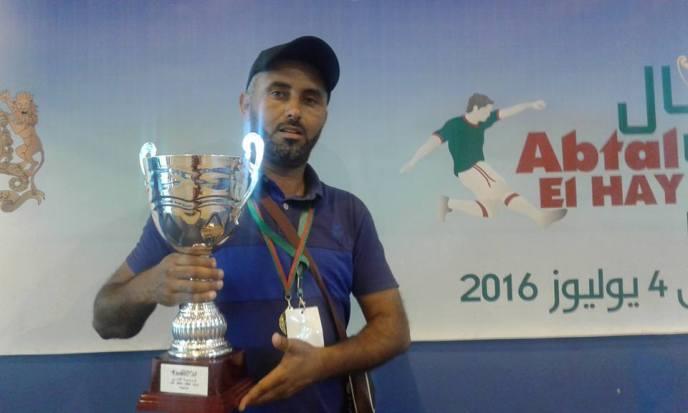 تيزنيت : استقبال بطل المغرب لدوري أبطال الحي