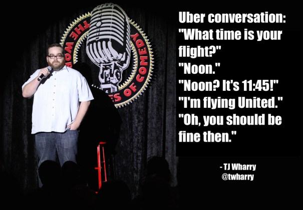 Uber conversation