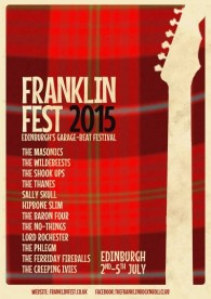 FranklinFest 2015 Flier. Hinting at the Scottish connection!