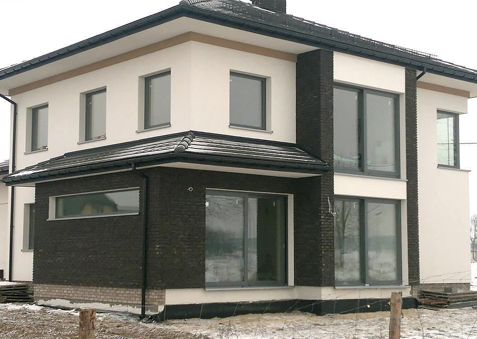 Budynek mieszkalny jednorodzinny w Gorznie k Garwolina