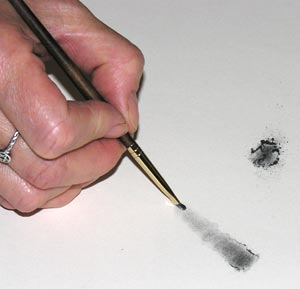 Powdered Graphite Test