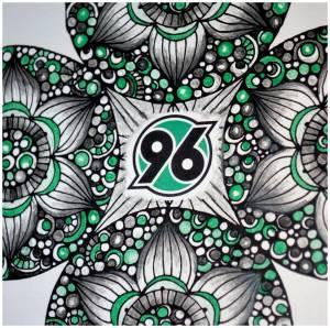 96-Mandala von Manfred