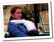 Madre soltera, con su hija.