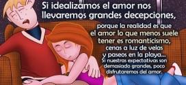 Seamos realistas con el amor