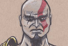 Sketchbook FB Group - Kratos