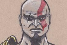 Sketchbook FB Group - Kratos
