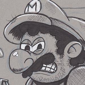 Sketchbook FB Group - Mario